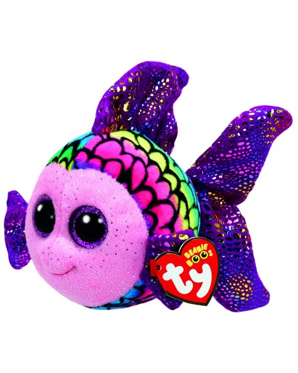 TY Peluche Fish Colourfull...