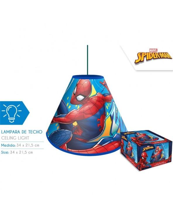 LAMPARA DE TECHO SPIDER-MAN