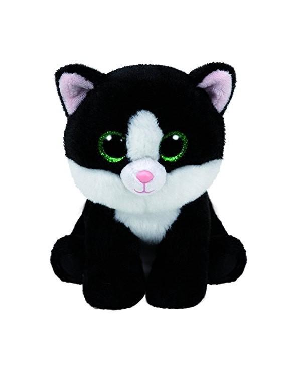 TY Peluche Cat Black White...