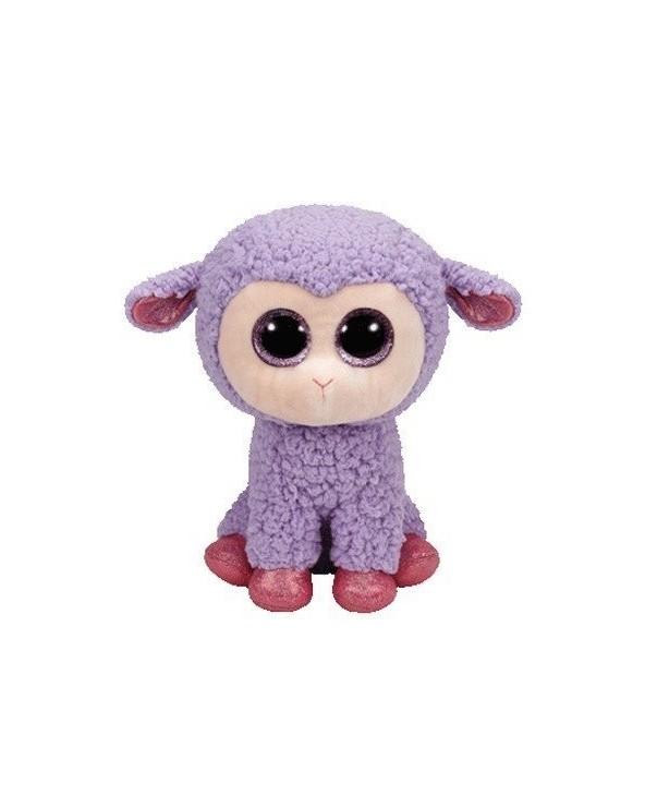 TY Peluche Lamb Lila 24cm