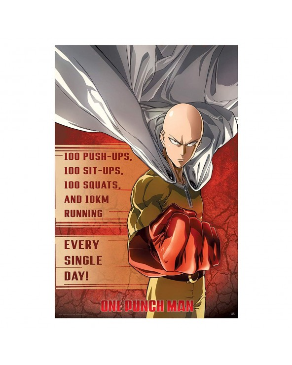 "ONE PUNCH MAN - ""Training""..."