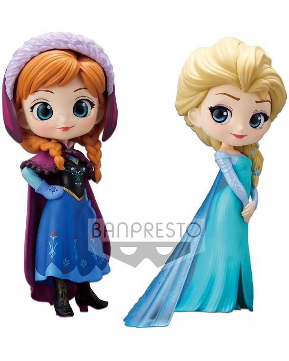 Q Posket Frozen Anna & Elsa