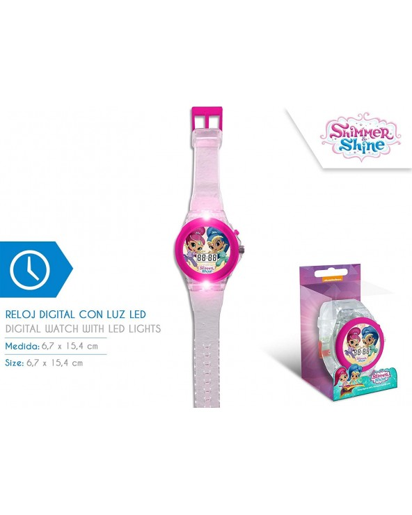 RELOJ DIGITAL CON LUZ LED...